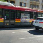 Publicidad autobuses Sevilla, publicidad exterior