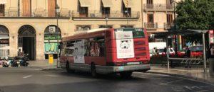 Publicidad autobuses Valencia Expowars