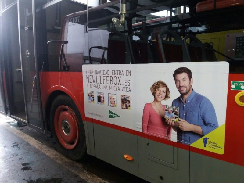 publicidad autobuses en Valencia