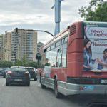 publicidad exterior Valencia, publicidad autobuses en Valencia, publicidad exterior móvil Valencia