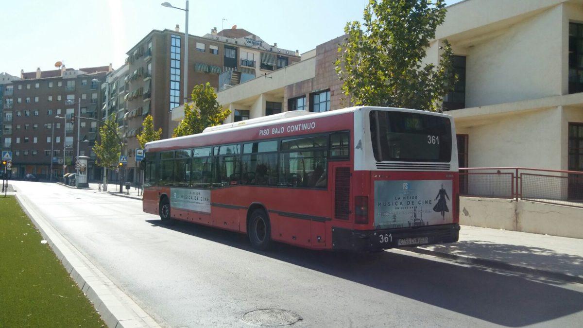 publicidad en autobuses Granada