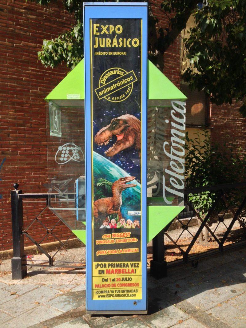 publicidad cabinas en Marbella, publicidad exterior Marbella
