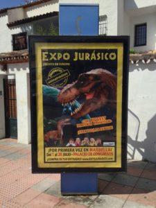 publicidad mupis Marbella