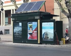 Publicidad kioscos Valencia