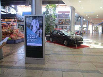 publicidad digital en centros comerciales, publicidad exterior Valencia